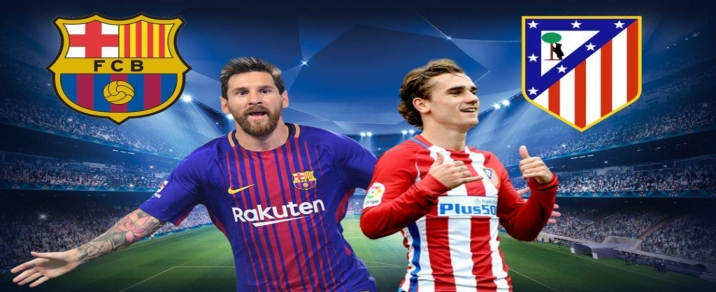 04/03/2018 FC Barcelona vs Atlético de Madrid <small>Spanish League</small>