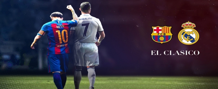 06/05/2018 FC Barcelona vs Real Madrid <small>Spanish League</small>