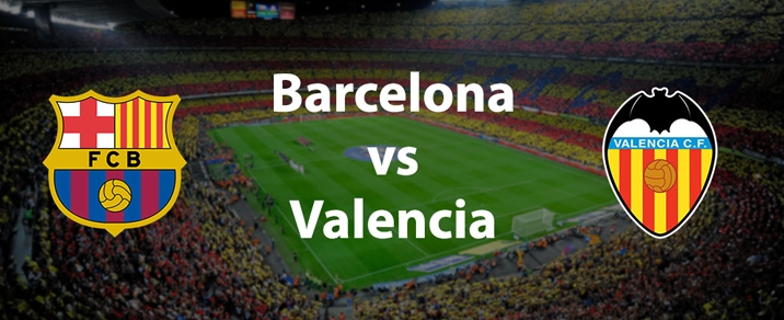 15/04/2018 FC Barcelona vs Valencia CF <small>Spanish League</small>
