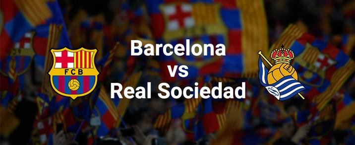 20/05/2018 FC Barcelona vs Real Sociedad <small>Spanish League</small>