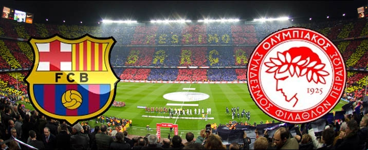 18/10/2017 FC Barcelona vs OlympiacosChampions League