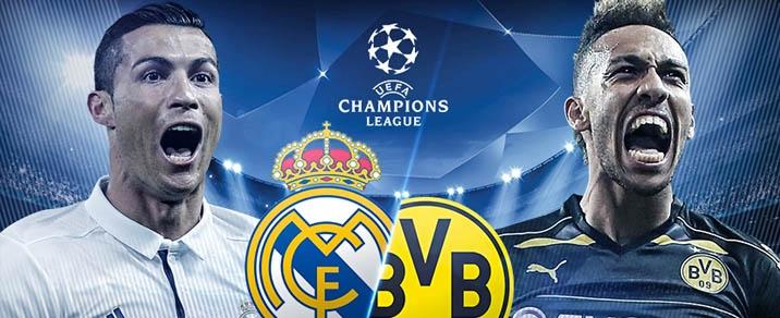 06/12/2017 Real Madrid vs Borussia Dortmund <small>Champions League</small>