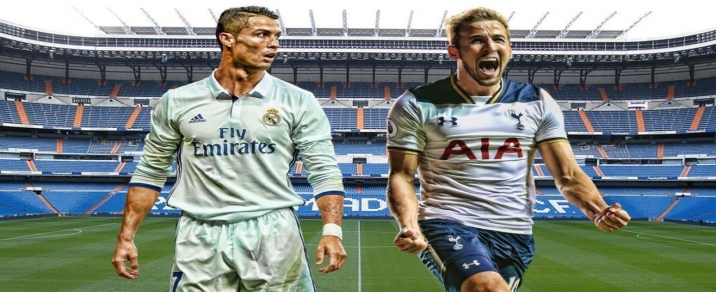 01/11/2017 Tottenham Hostspur vs Real MadridChampions League