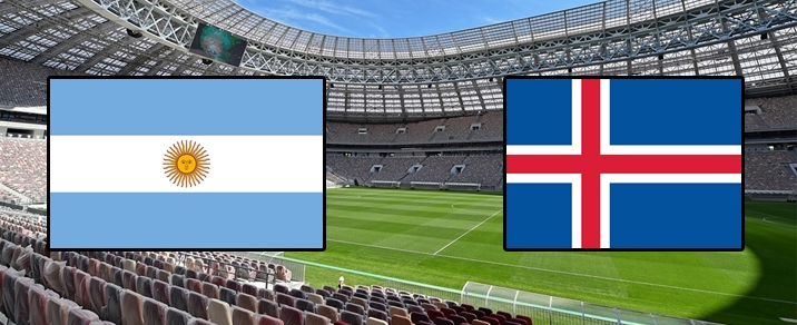 16/06/2018 Argentina vs Iceland <small>World Cup 2018 - Group Stages</small>