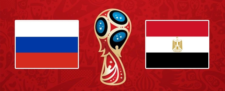 19/06/2018 Russia vs Egypt <small>World Cup 2018 - Group Stages</small>