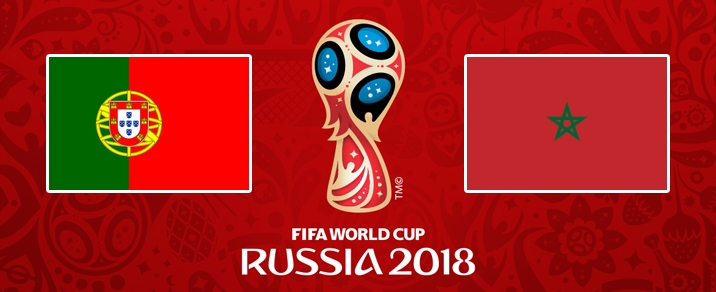 20/06/2018 Portugal vs Morocco <small>World Cup 2018 - Group Stages</small>