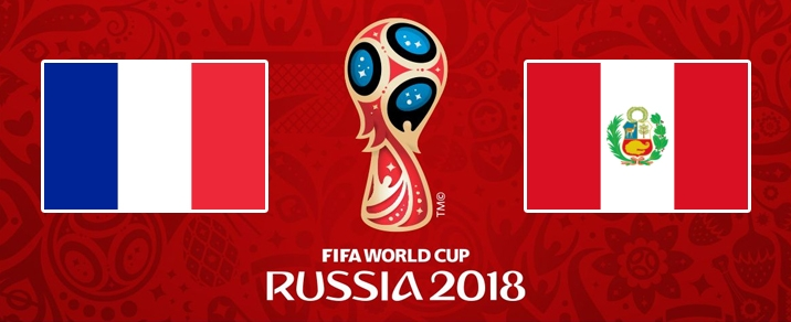 21/06/2018 France vs Peru <small>World Cup 2018 - Group Stages</small>