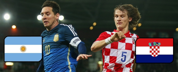 21/06/2018 Argentina vs Croatia <small>World Cup 2018 - Group Stages</small>