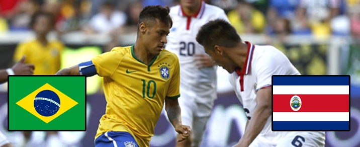 22/06/2018 Brazil vs Costa Rica <small>World Cup 2018 - Group Stages</small>