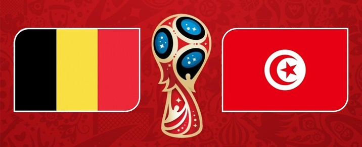 23/06/2018 Belgium vs Tunisia <small>World Cup 2018 - Group Stages</small>
