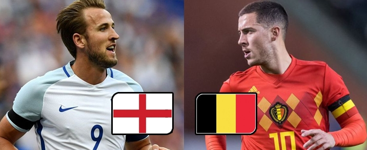 28/06/2018 England vs Belgium <small>World Cup 2018 - Group Stages</small>