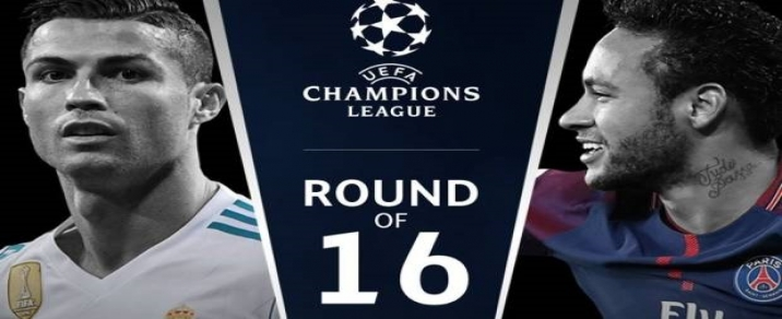 14/02/2018 Real Madrid vs Paris Saint-Germain <small>Champions League</small>