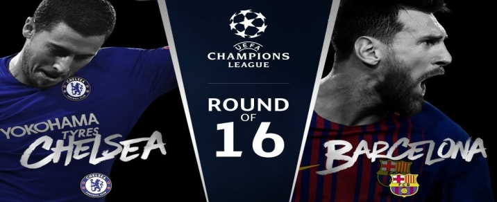 14/03/2018 FC Barcelona vs Chelsea <small>Champions League</small>