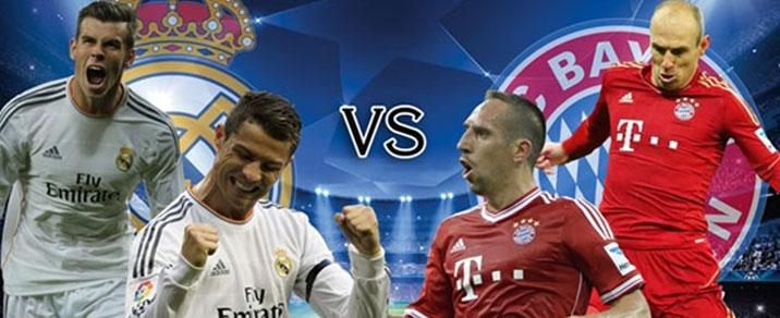 01/05/2018 Real Madrid vs FC Bayern München <small>Champions League</small>