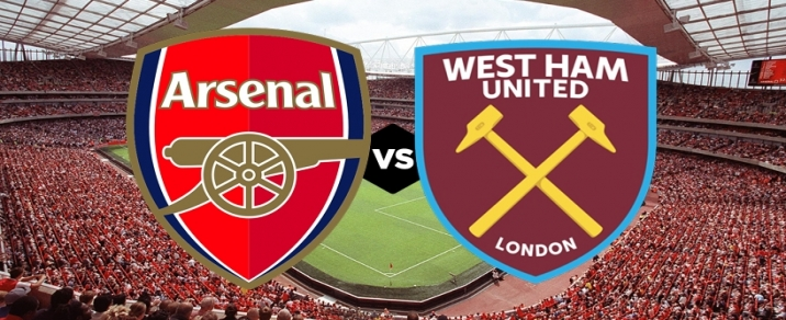 25/08/2018 Arsenal vs West Ham <small>Premier League</small>