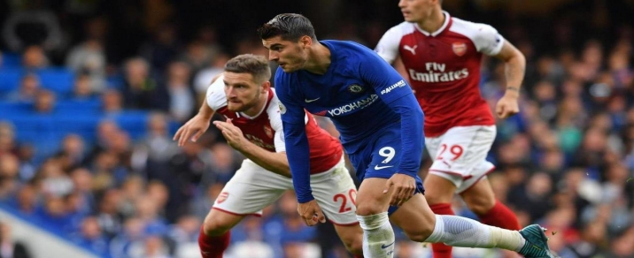 18/08/2018 Chelsea vs Arsenal <small>Premier League</small>