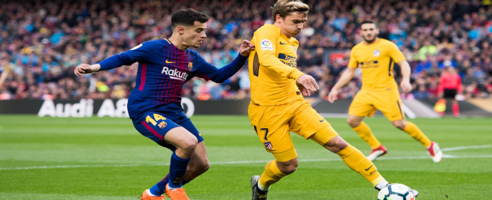 07/04/2019 FC Barcelona vs Atlético de Madrid <small>Spanish League</small>