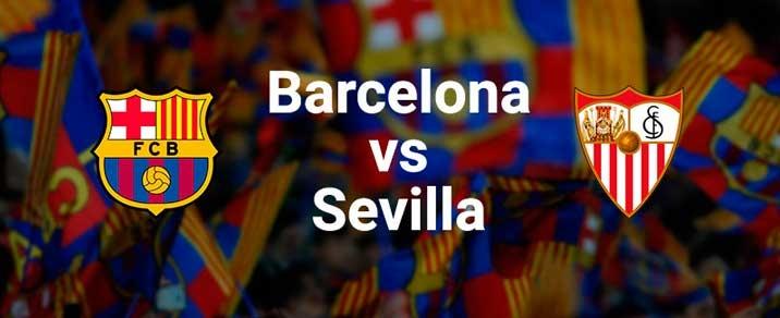 20/10/2018 FC Barcelona vs Sevilla FC <small>Spanish League</small>