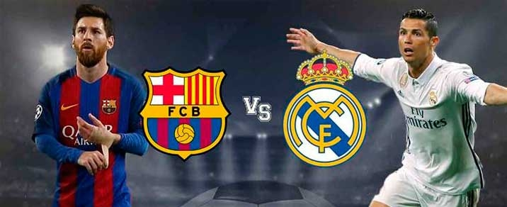 02/03/2019 Real Madrid vs FC Barcelona <small>Spanish League</small>
