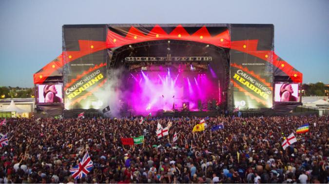 イギリスのReading Festival(レ...