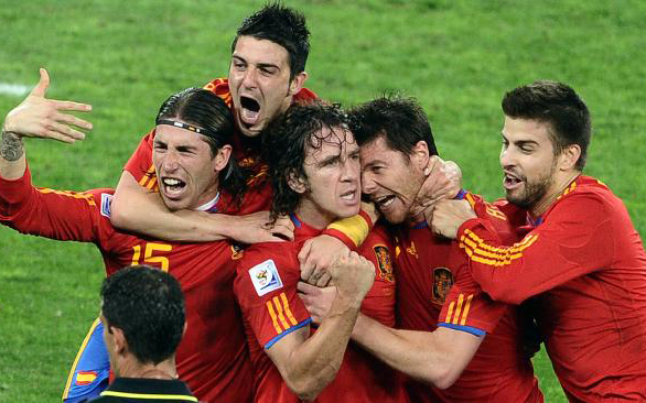 Buy Spain Football Tickets